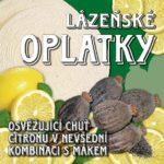 Lázeňské oplatky – citron s mákem