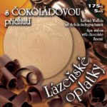 Lázeňské oplatky s čokoládovou příchutí